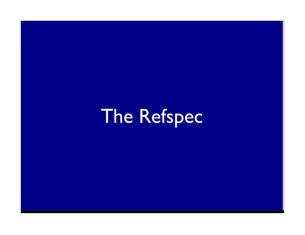 The Refspec