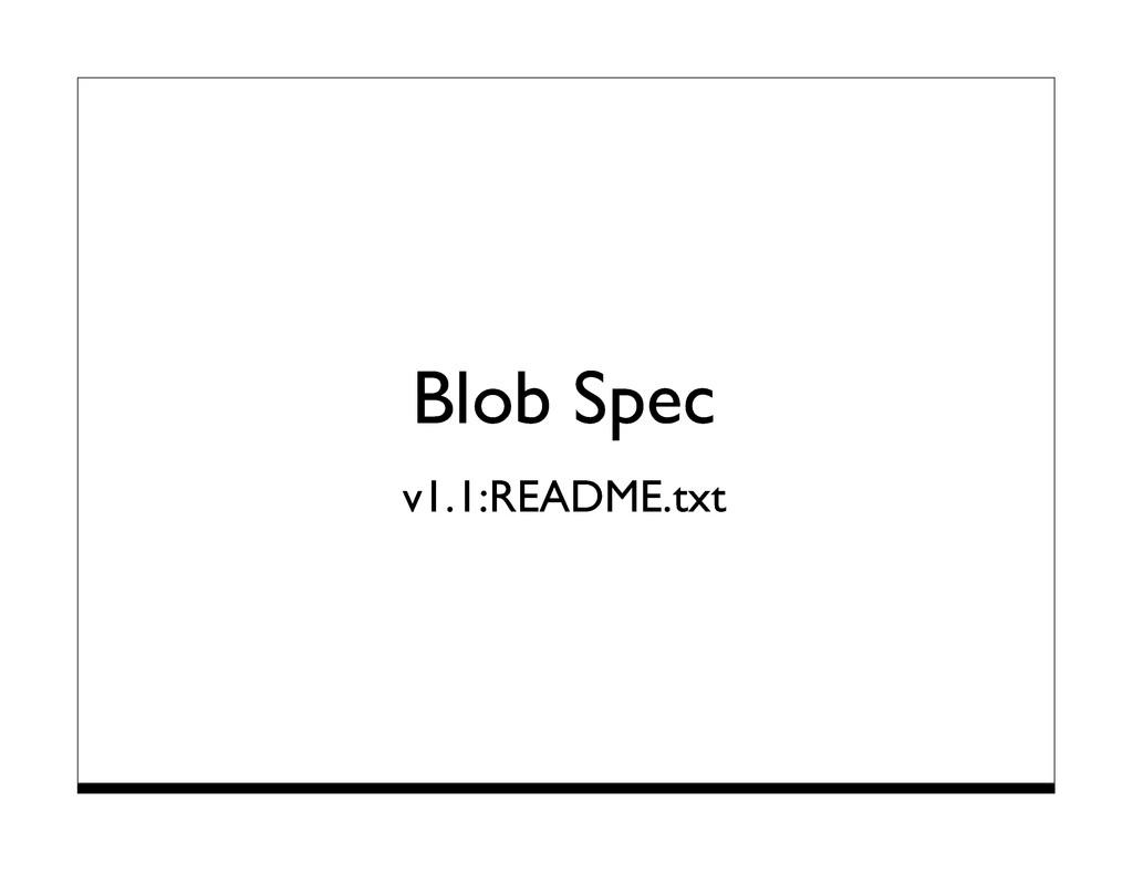 Blob Spec v1.1:README.txt