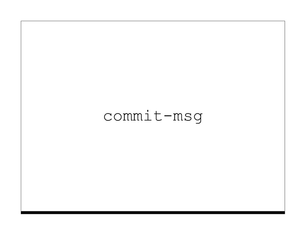 commit-msg