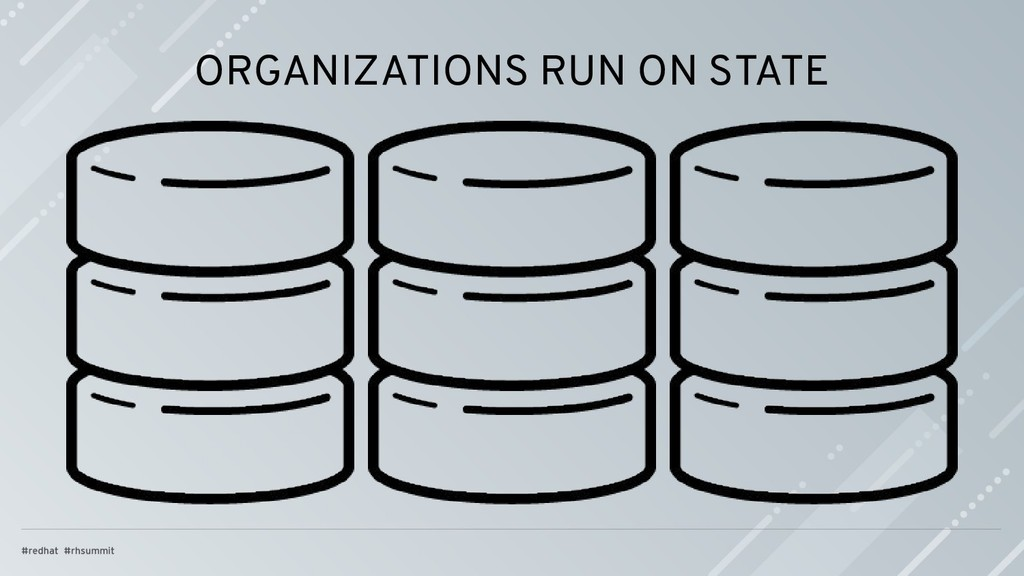ORGANIZATIONS RUN ON STATE