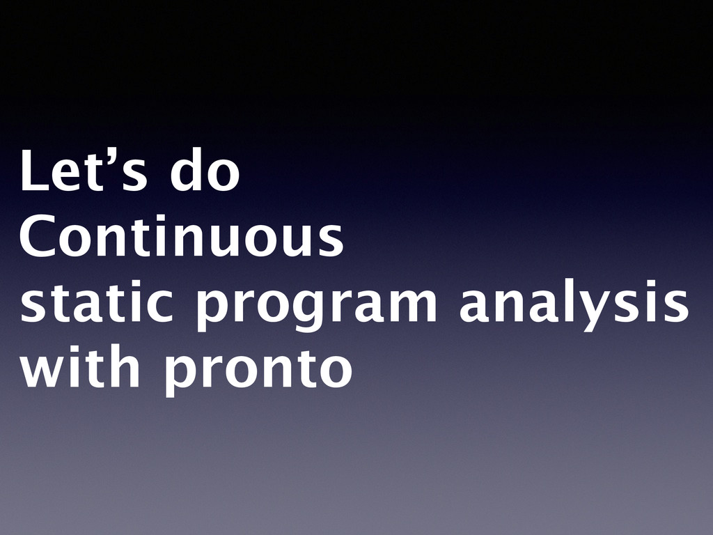 Let's do 