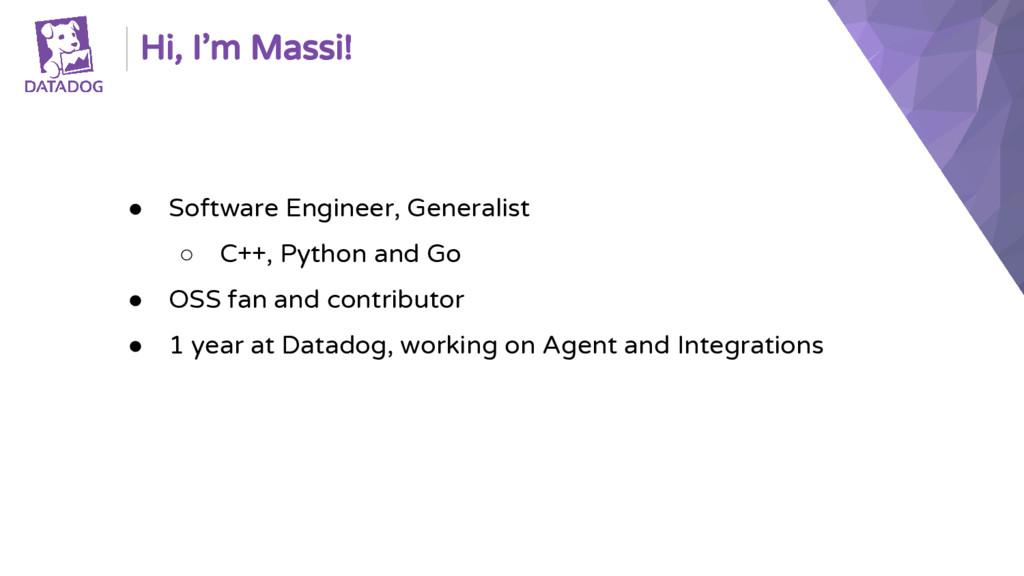 ● Software Engineer, Generalist ○ C++, Python a...