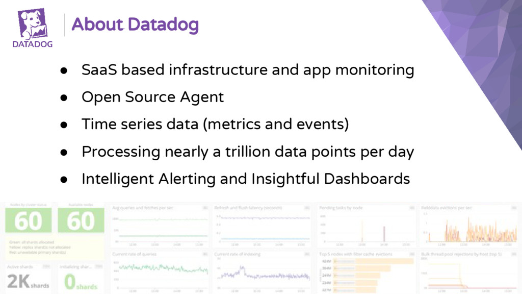 ● SaaS based infrastructure and app monitoring ...