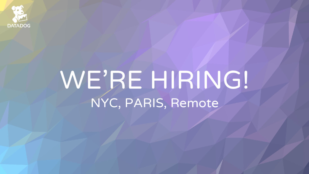 WE'RE HIRING! NYC, PARIS, Remote