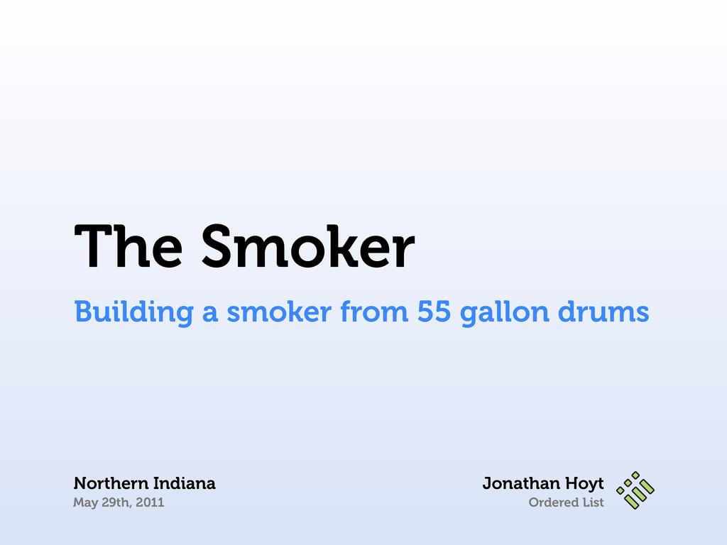 Ordered List Jonathan Hoyt Northern Indiana May...