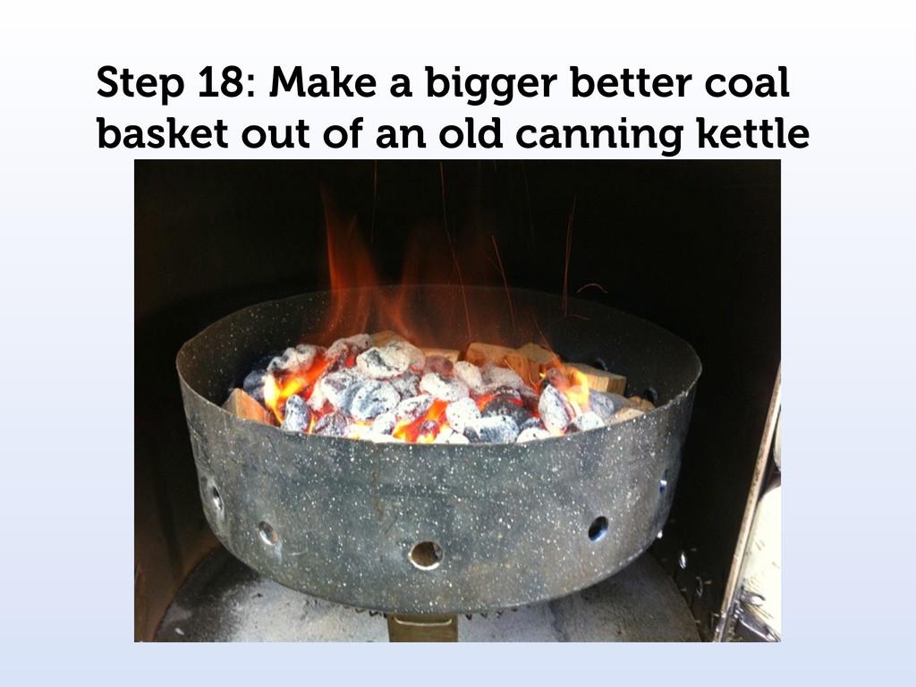 Step 18: Make a bigger better coal basket out o...