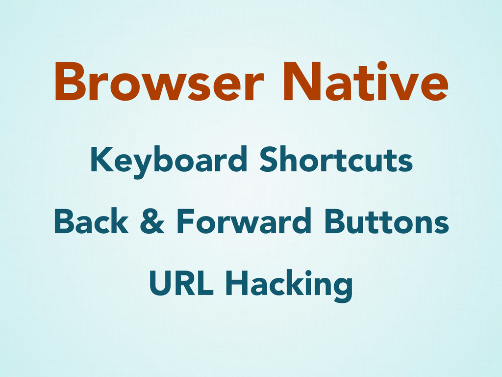 Keyboard Shortcuts Back & Forward Buttons URL H...