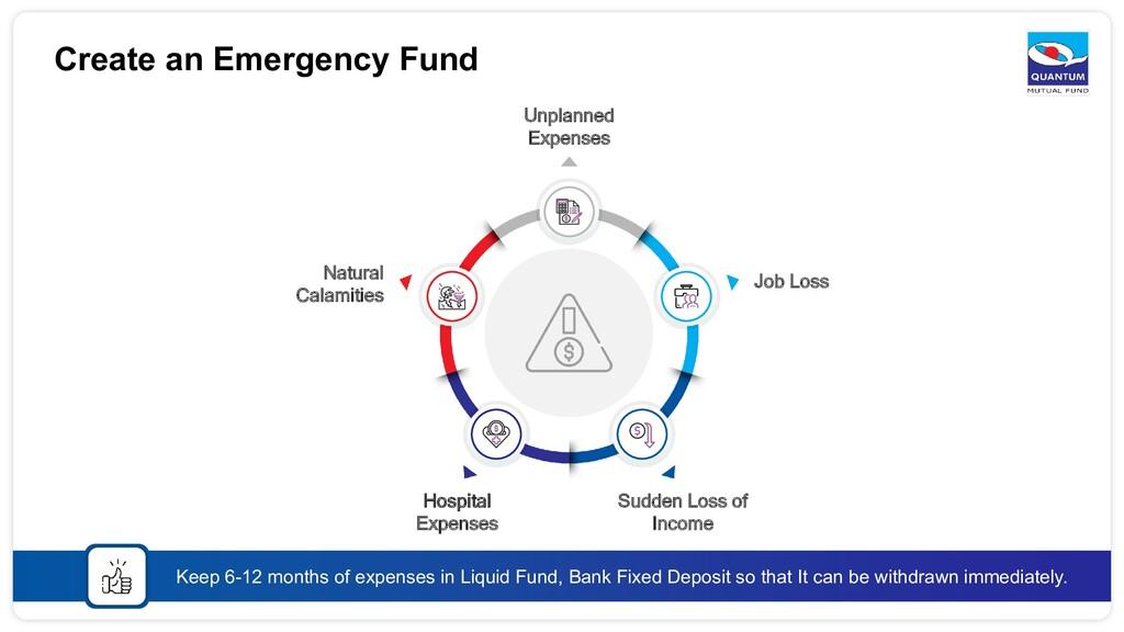 Create an Emergency Fund Keep 6-12 months of ex...