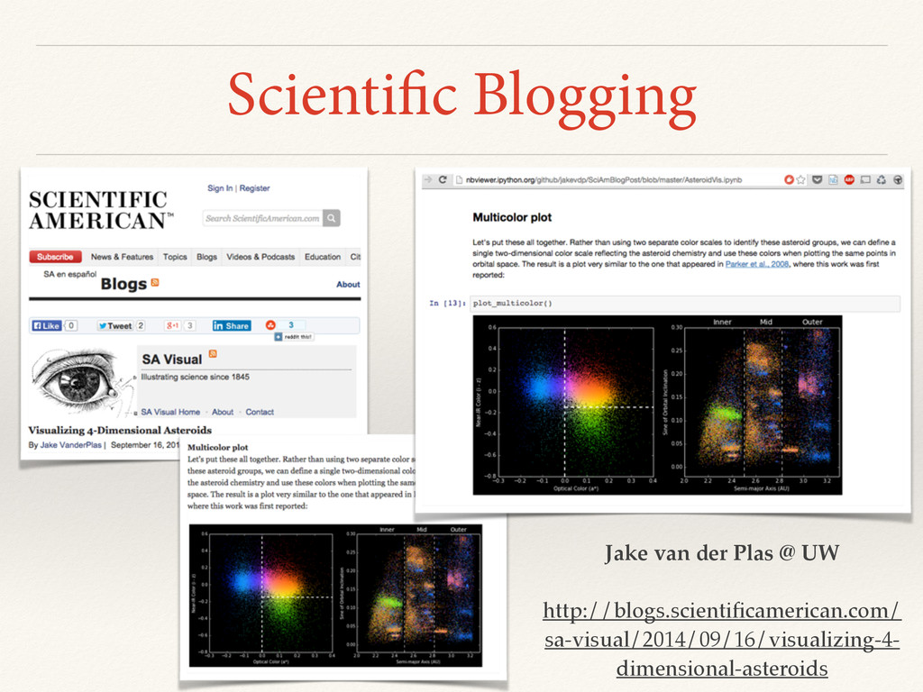 Scientific Blogging Jake van der Plas @ UW http...