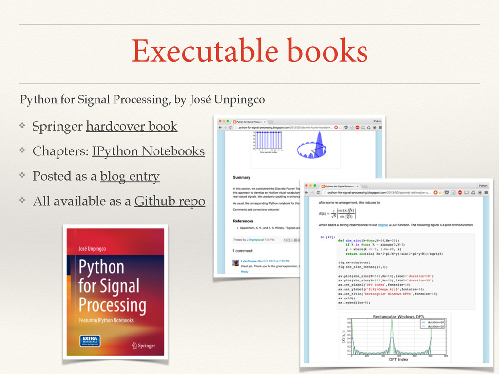 Executable books ❖ Springer hardcover book ❖ Ch...