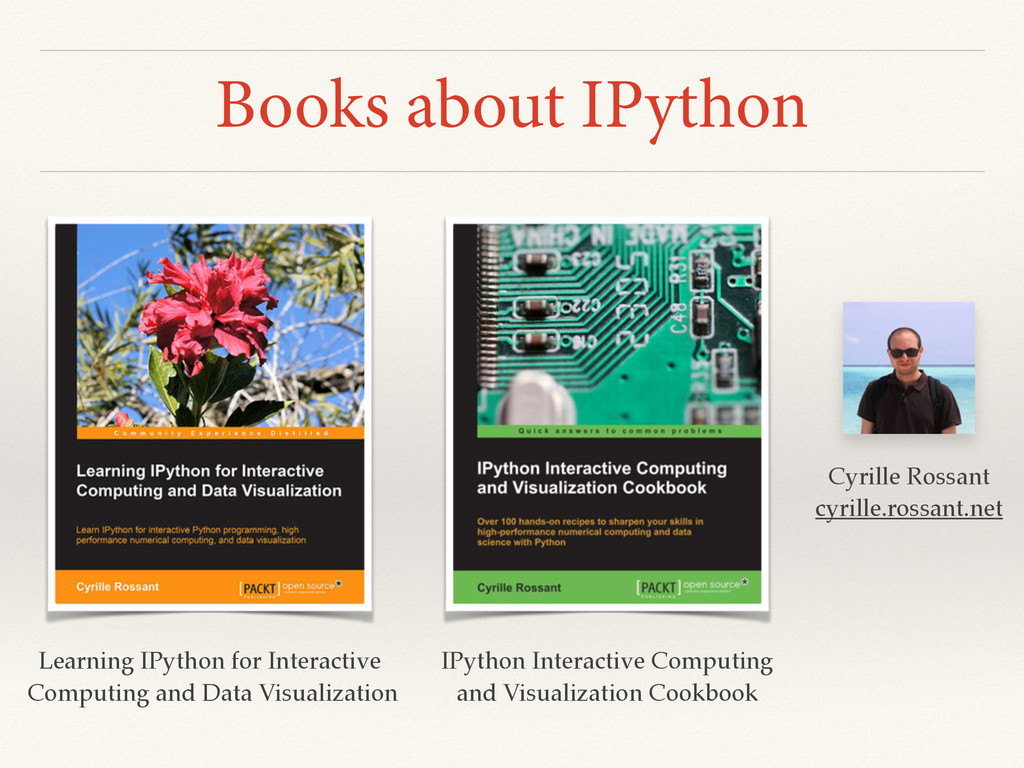 Books about IPython IPython Interactive Computi...