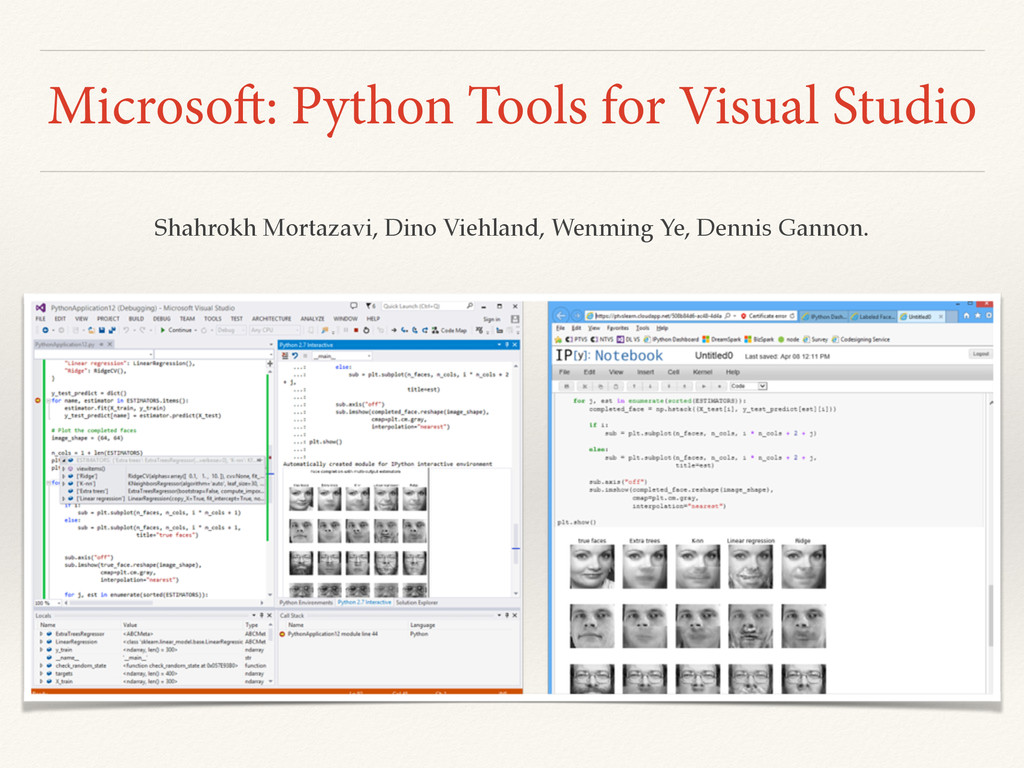 Microsoft: Python Tools for Visual Studio Shahr...
