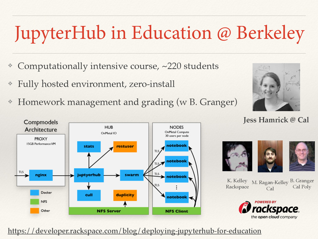 JupyterHub in Education @ Berkeley https://deve...
