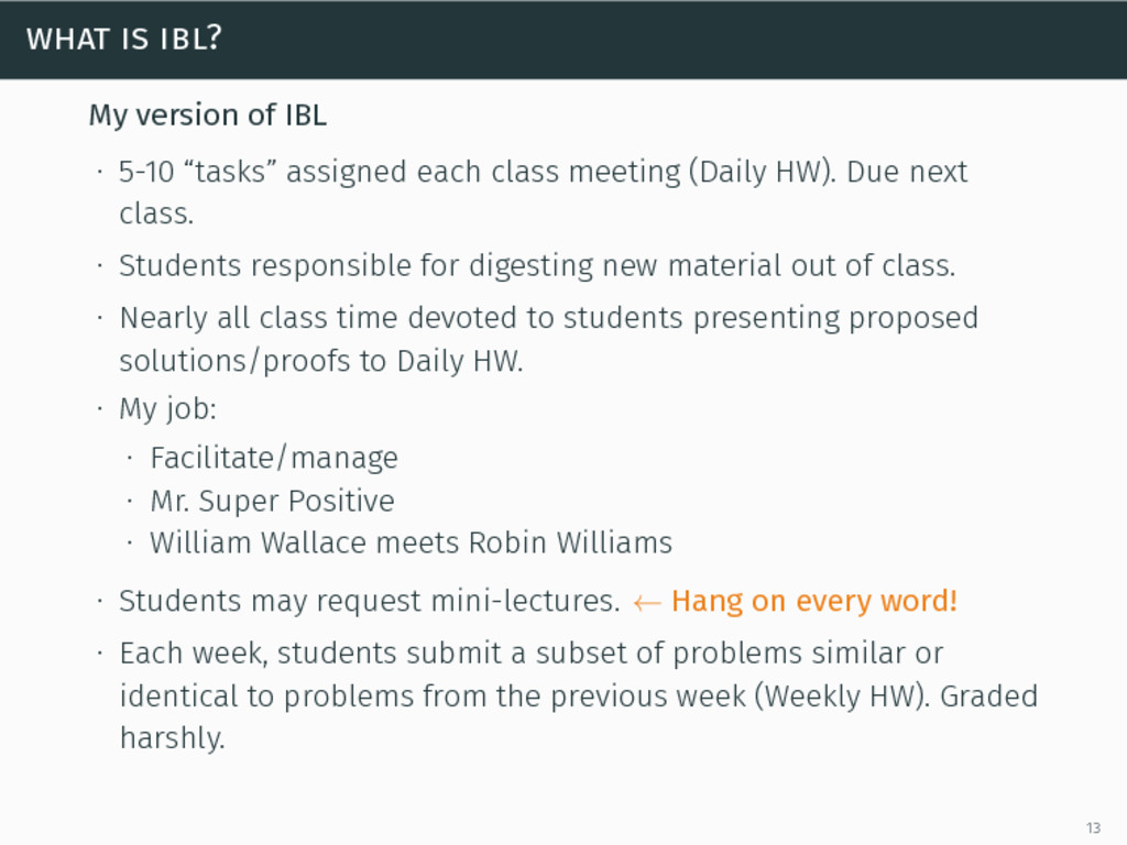 "what is ibl? My version of IBL ∙ 5-10 ""tasks"" a..."
