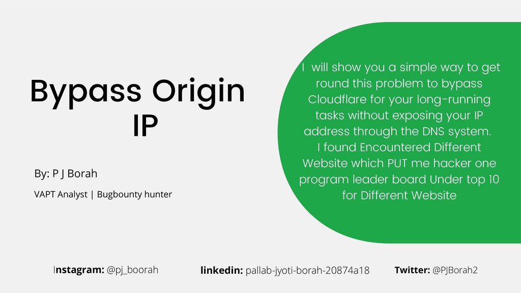 Bypass Origin IP I will show you a simple way t...