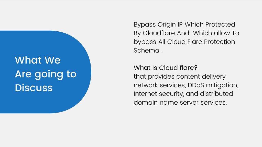 Bypass Origin IP Which Protected By Cloudflare ...