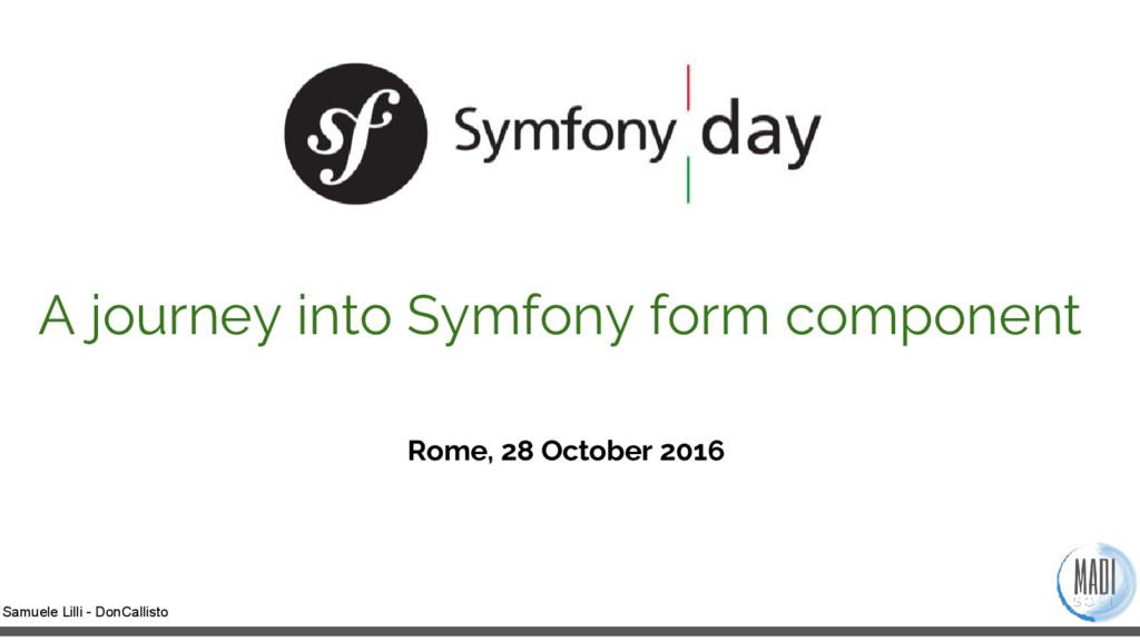 Samuele Lilli - DonCallisto Rome, 28 October 20...