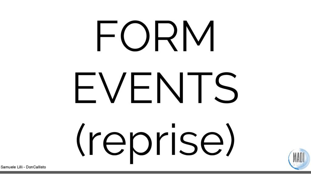 Samuele Lilli - DonCallisto FORM EVENTS (repris...