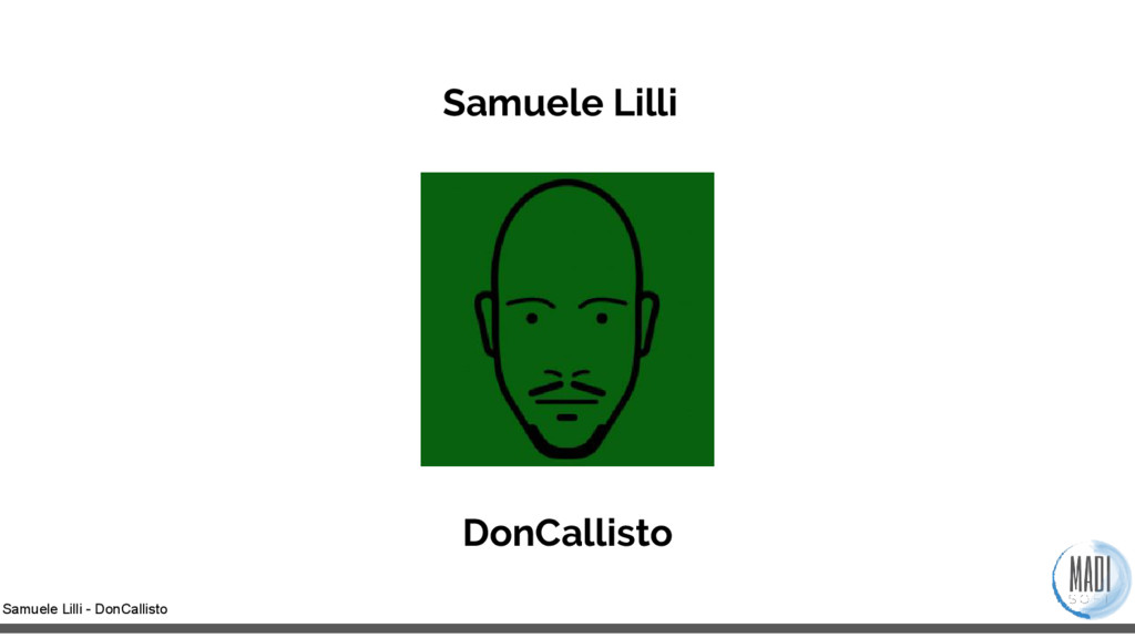 Samuele Lilli - DonCallisto Samuele Lilli DonCa...