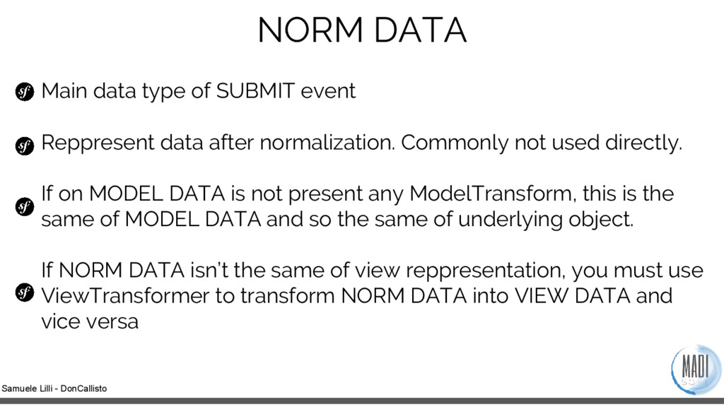 Samuele Lilli - DonCallisto NORM DATA Main data...