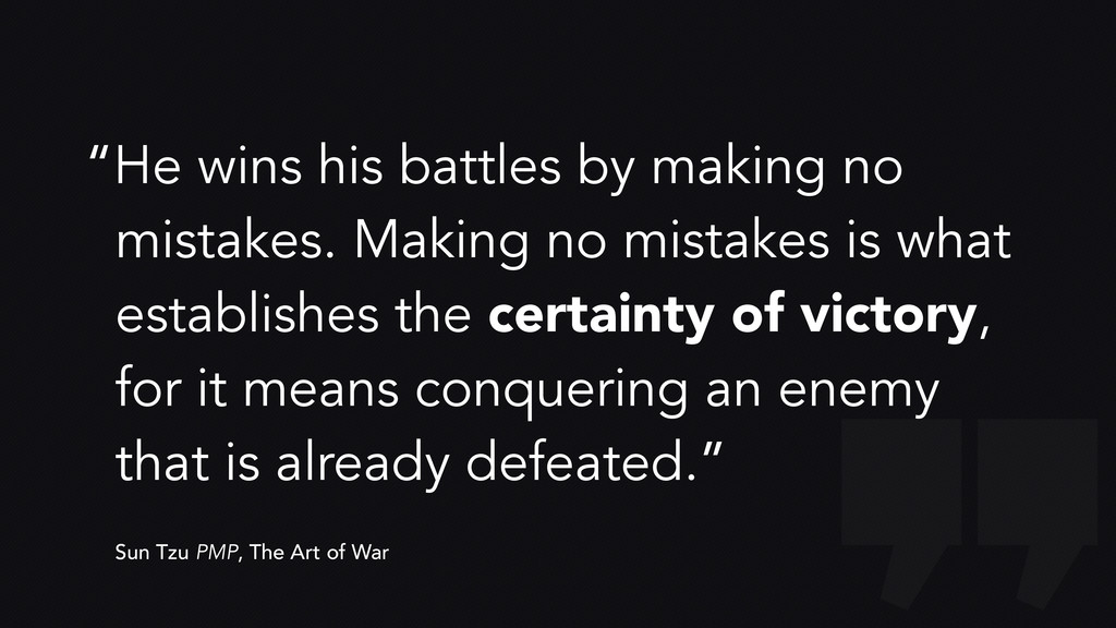 """""""He wins his battles by making no mistakes. Mak..."""