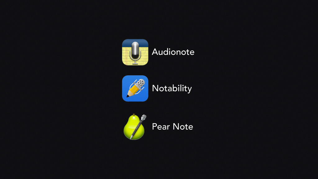 Audionote Notability Pear Note