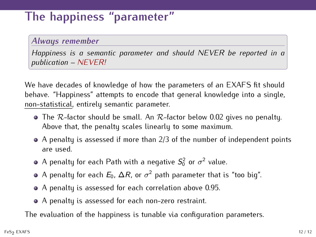 """The happiness """"parameter"""" Always remember Happi..."""