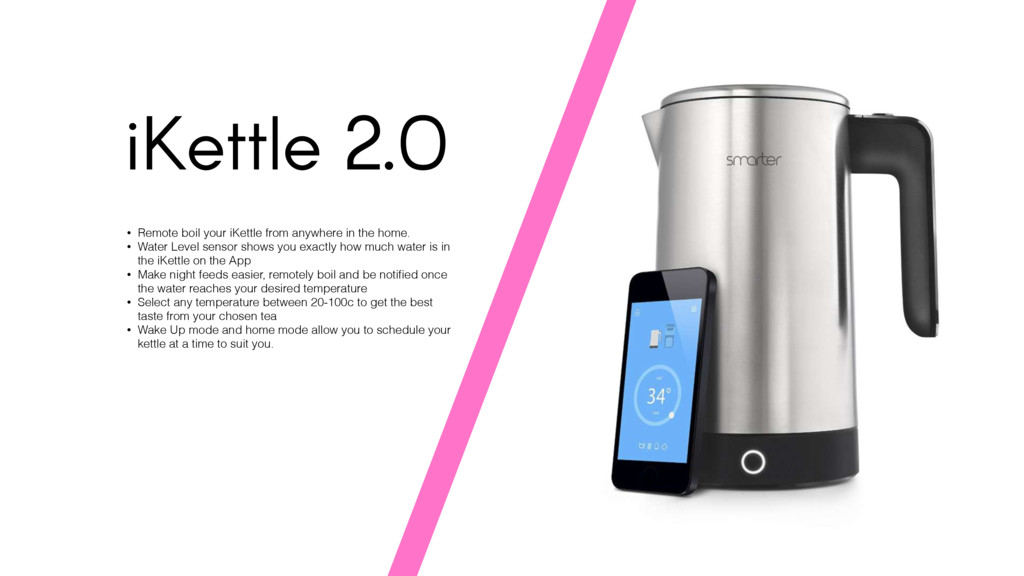 iKettle 2.0 • Remote boil your iKettle from any...
