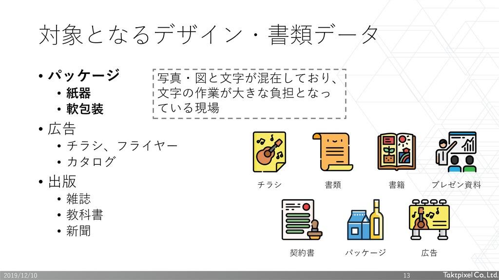 • パッケージ • 紙器 • 軟包装 • 広告 • チラシ、フライヤー • カタログ • 出版...