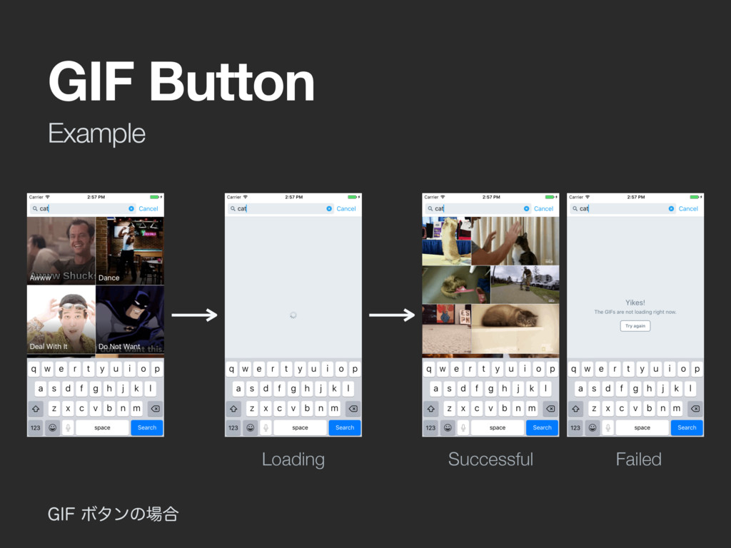 Example GIF Button (*'Ϙλϯͷ߹ Loading Successfu...
