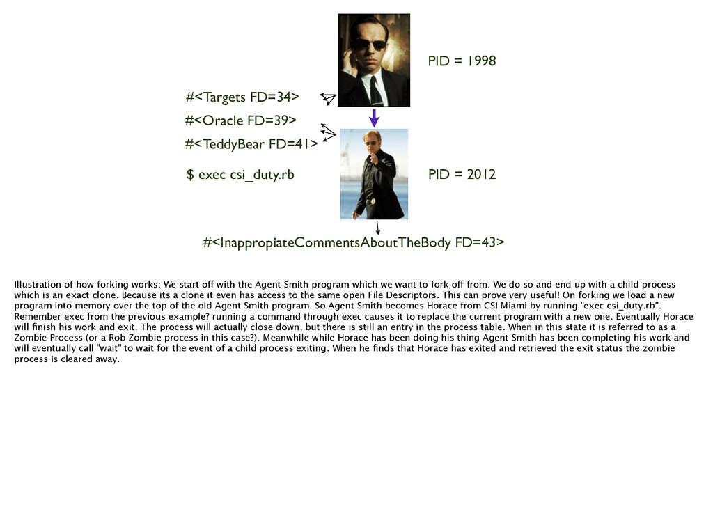 PID = 1998 PID = 2012 #<Targets FD=34> #<Oracle...