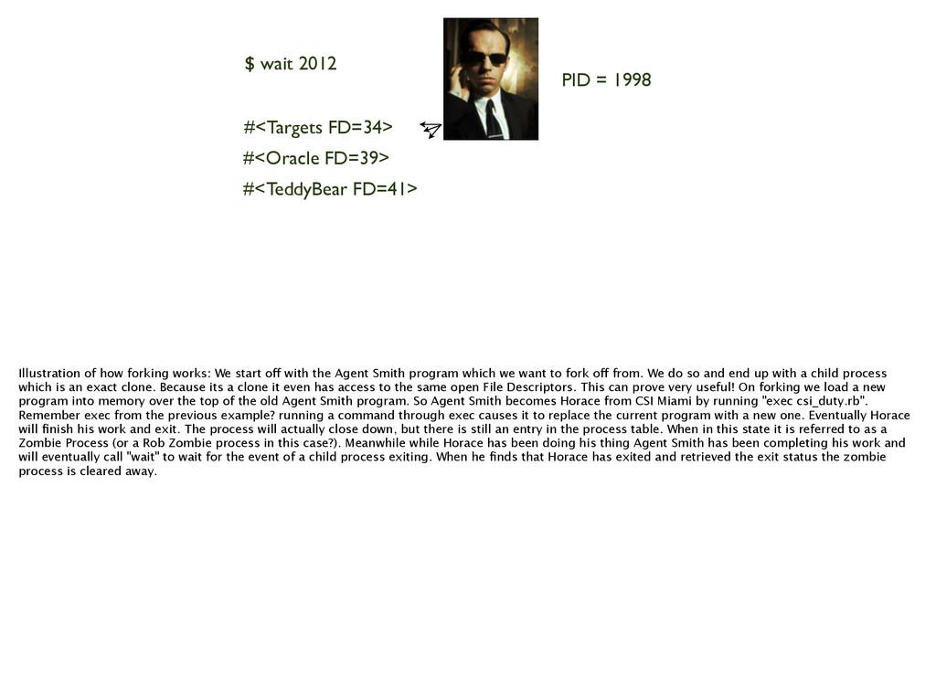 PID = 1998 #<Targets FD=34> #<Oracle FD=39> #<T...