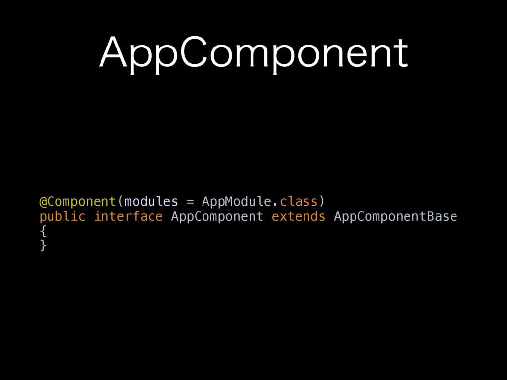 """QQ$PNQPOFOU @Component(modules = AppModule.cla..."