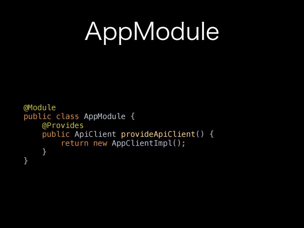 """""""QQ.PEVMF @Module public class AppModule { @P..."""