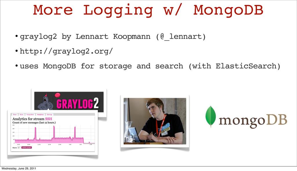 • graylog2 by Lennart Koopmann (@_lennart) • ht...