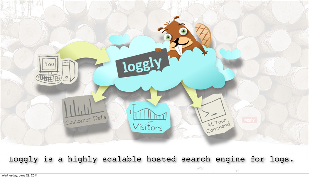 Loggly is a highly scalable hosted search engin...