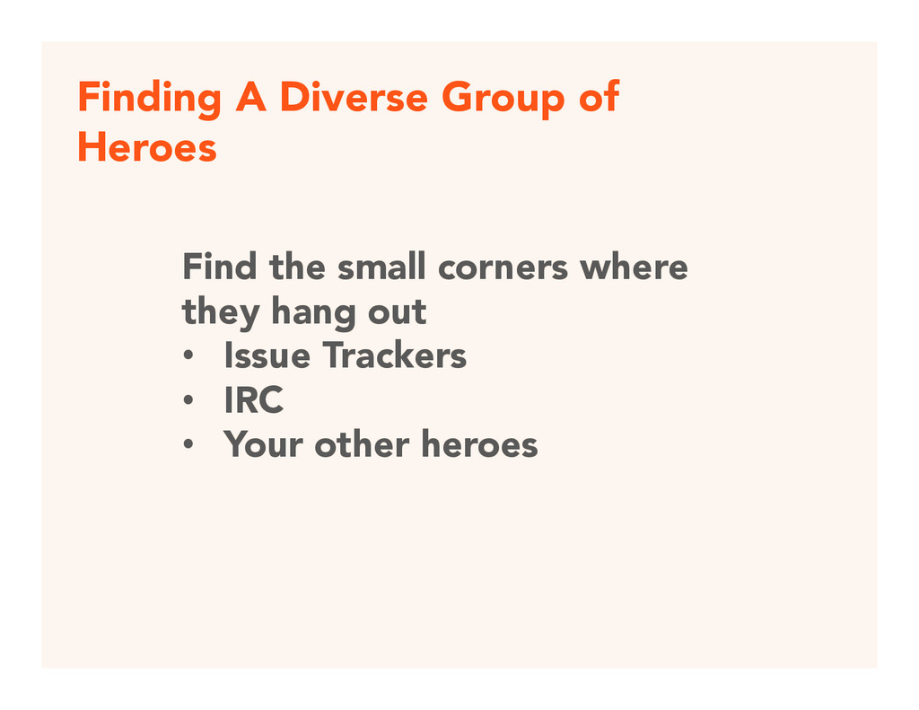 Finding A Diverse Group of Heroes Find the sma...