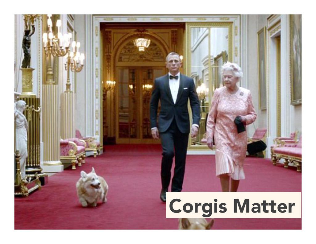 Corgis Matter