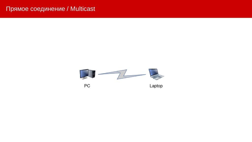 Прямое соединение / Multicast
