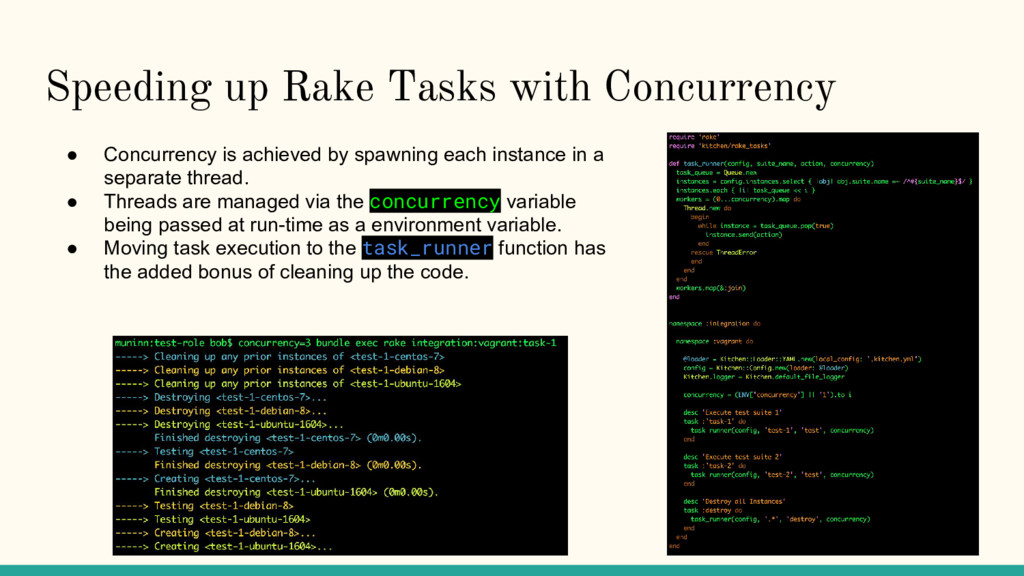 Speeding up Rake Tasks with Concurrency ● Concu...
