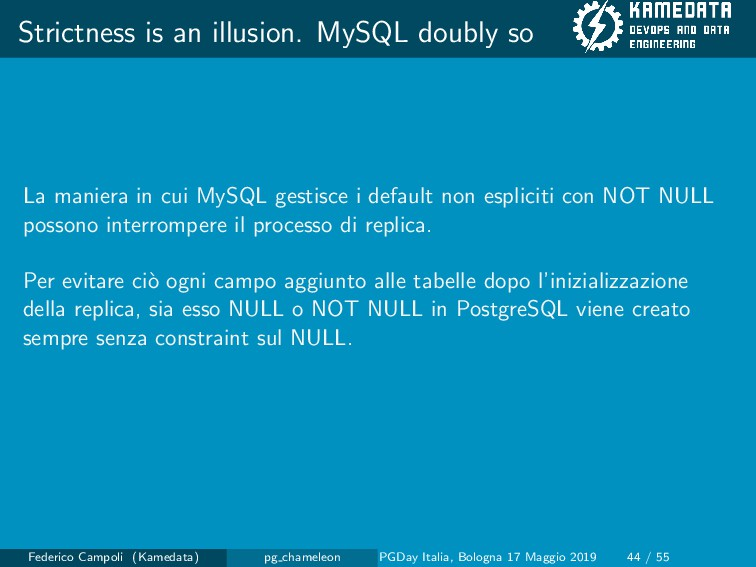 Strictness is an illusion. MySQL doubly so La m...