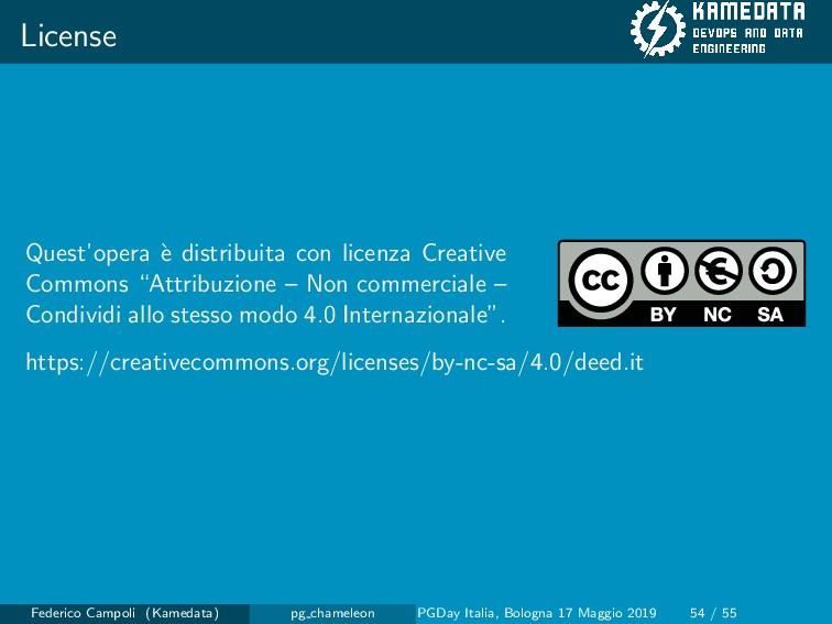 License Quest'opera ` e distribuita con licenza...
