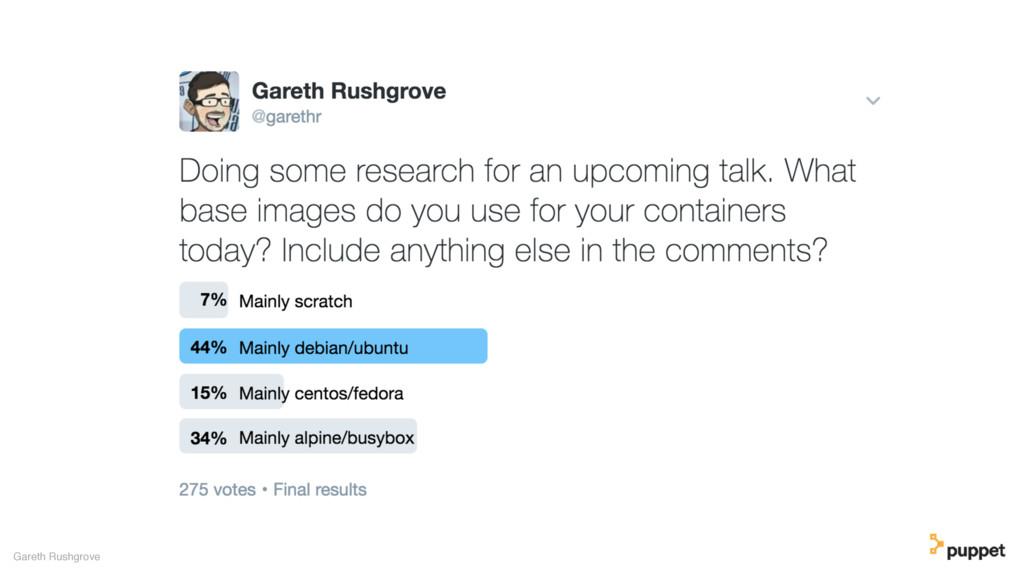 Gareth Rushgrove