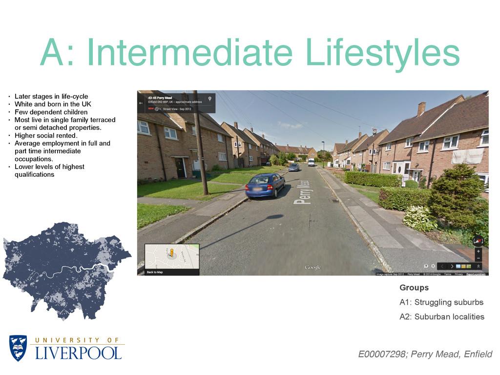 A: Intermediate Lifestyles E00007298; Perry Mea...