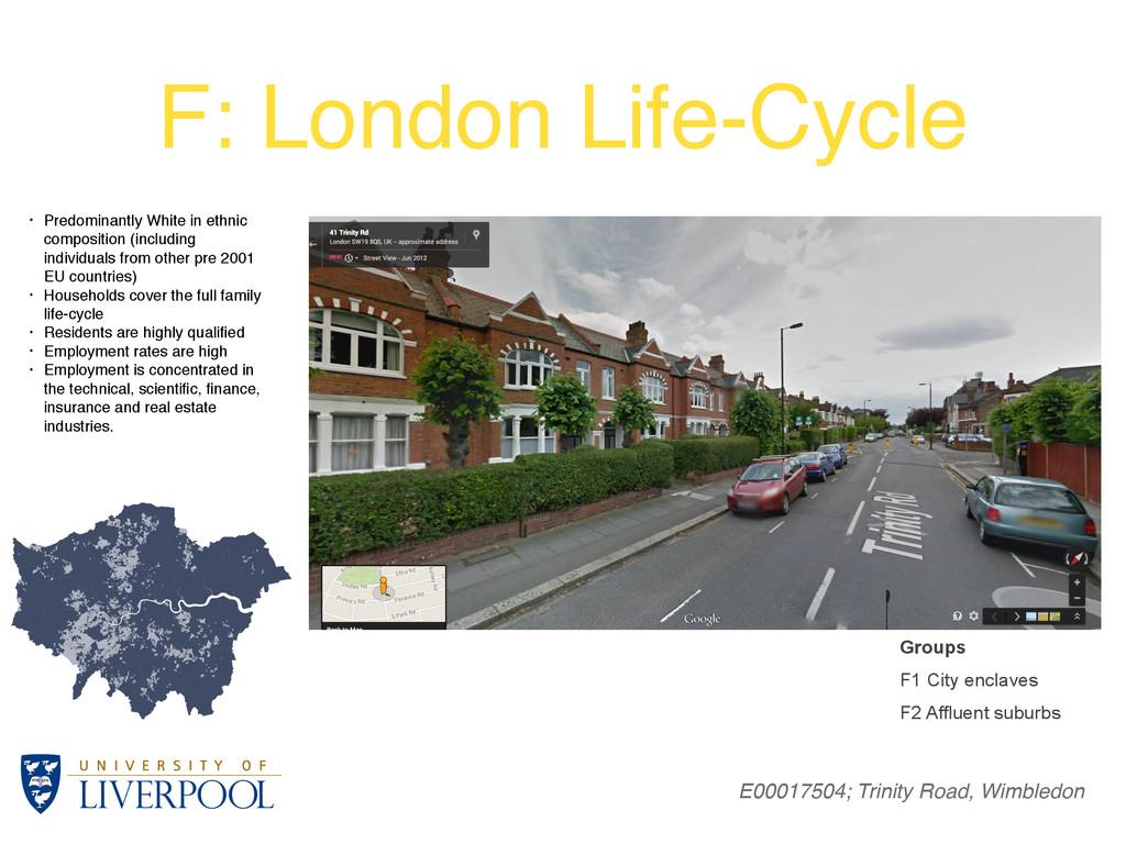 F: London Life-Cycle E00017504; Trinity Road, W...
