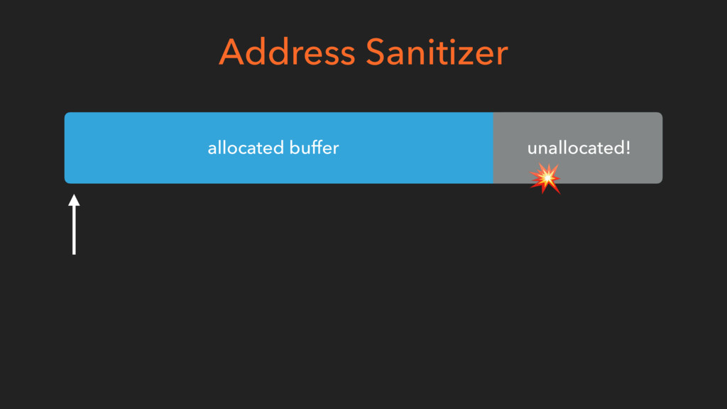 Address Sanitizer allocated buffer unallocated!