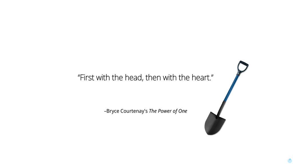 """–Bryce Courtenay's The Power of One """"First with..."""