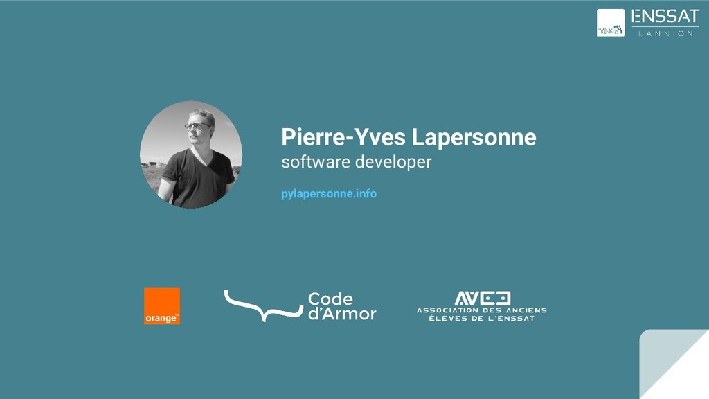 Pierre-Yves Lapersonne software developer pylap...