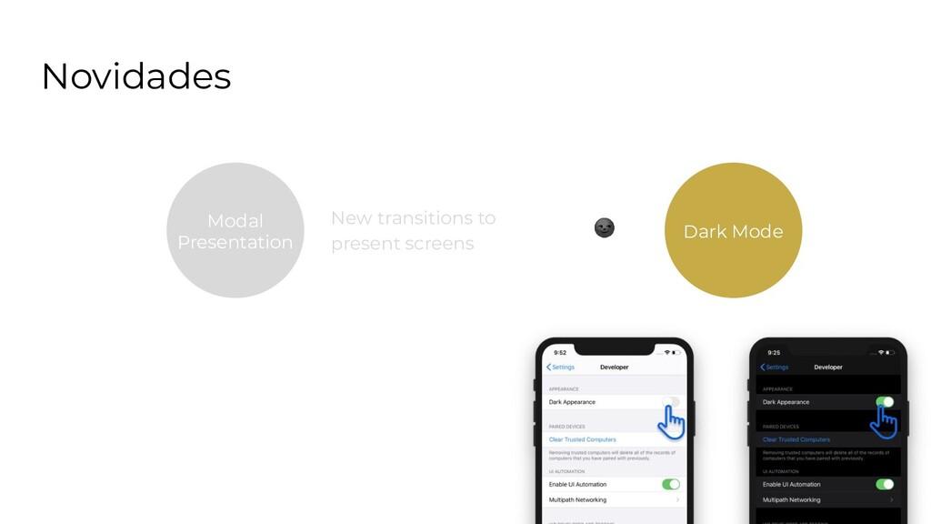 Novidades Search Bar Modal Presentation New tra...