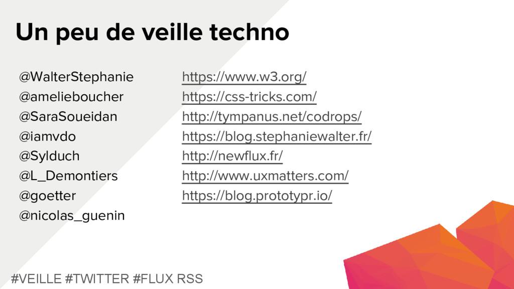 Un peu de veille techno #VEILLE #TWITTER #FLUX ...